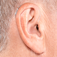 Made For iPhone Receive-in-Canal Hearing Aid on Ear